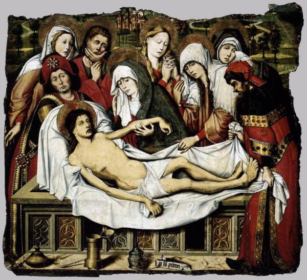 Entombment Of Christ